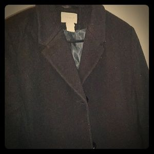 L.L. Bean Women's Pea Coat Trench Jacket Sz 10P